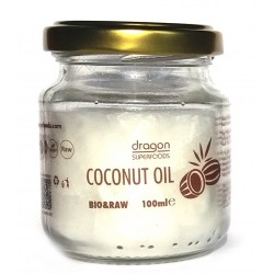 Ulei de cocos virgin bio 100ml Dragon Organic