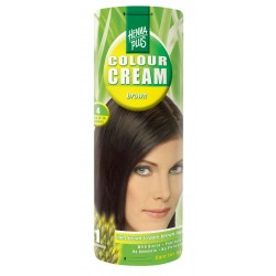 COLOUR CREAM - CREMA NUANTATOARE BROWN 4 60 ml HennaPlus